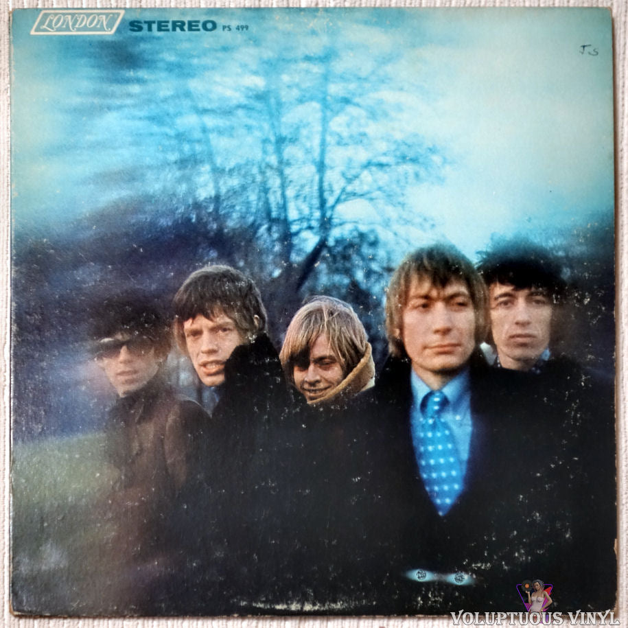 The Rolling Stones ‎– Between The Buttons vinyl record front cover