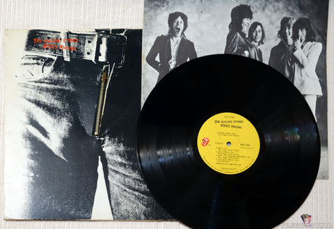 The Rolling Stones ‎– Sticky Fingers vinyl record