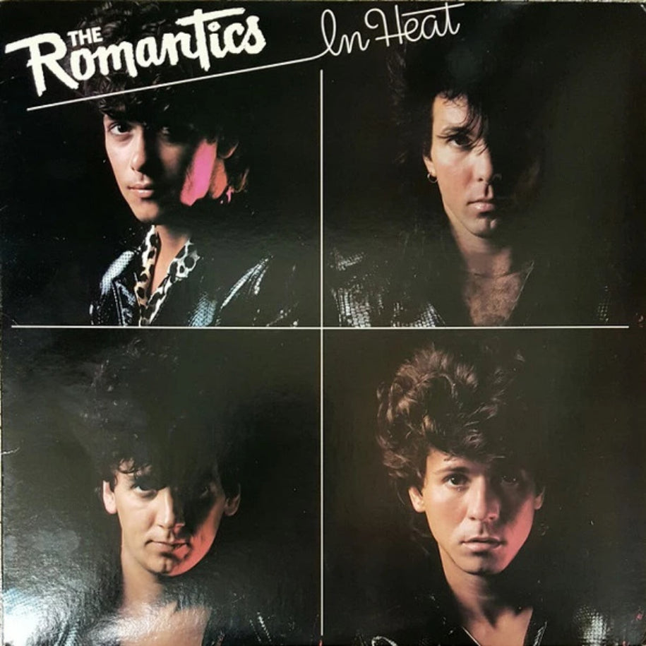 The Romantics ‎– In Heat vinyl record front cover