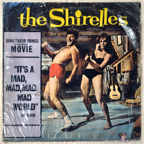 "The Shirelles ‎– Sing Their Songs In The Movie ""It's A Mad, Mad, Mad, Mad World"" And Others (1963) MONO"