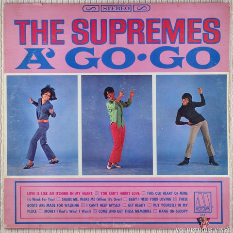 The Supremes ‎– A' Go-Go (1966) Stereo