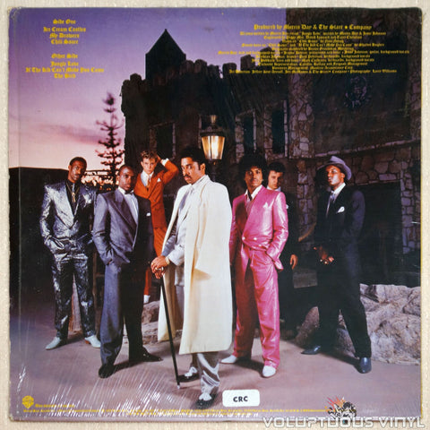 The Time ‎– Ice Cream Castle - Vinyl Record - Back Cover