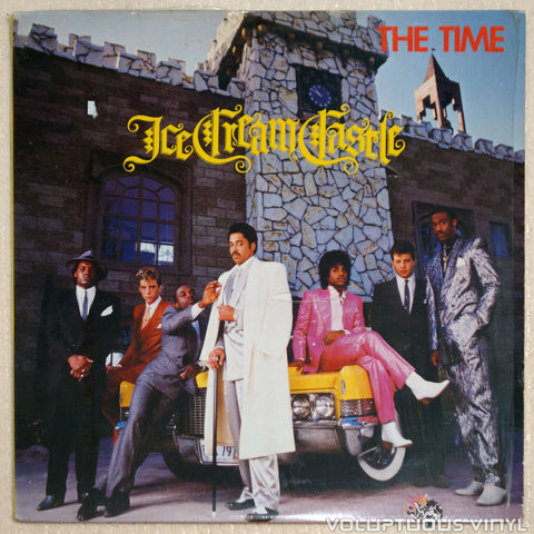 The Time ‎– Ice Cream Castle - Vinyl Record - Front Cover