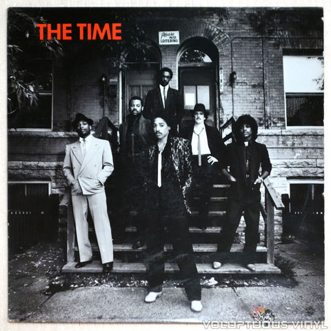 The Time ‎– The Time - Vinyl Record - Front Cover