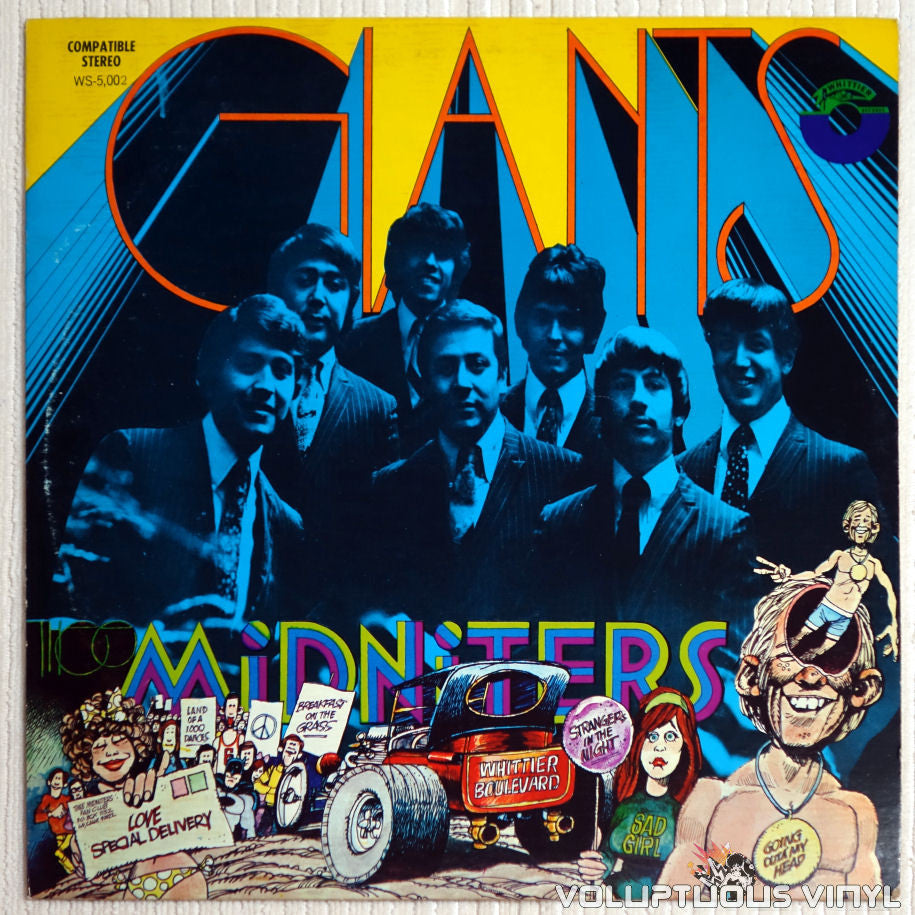 Thee Midniters ‎– Giants - Vinyl Record - Front Cover