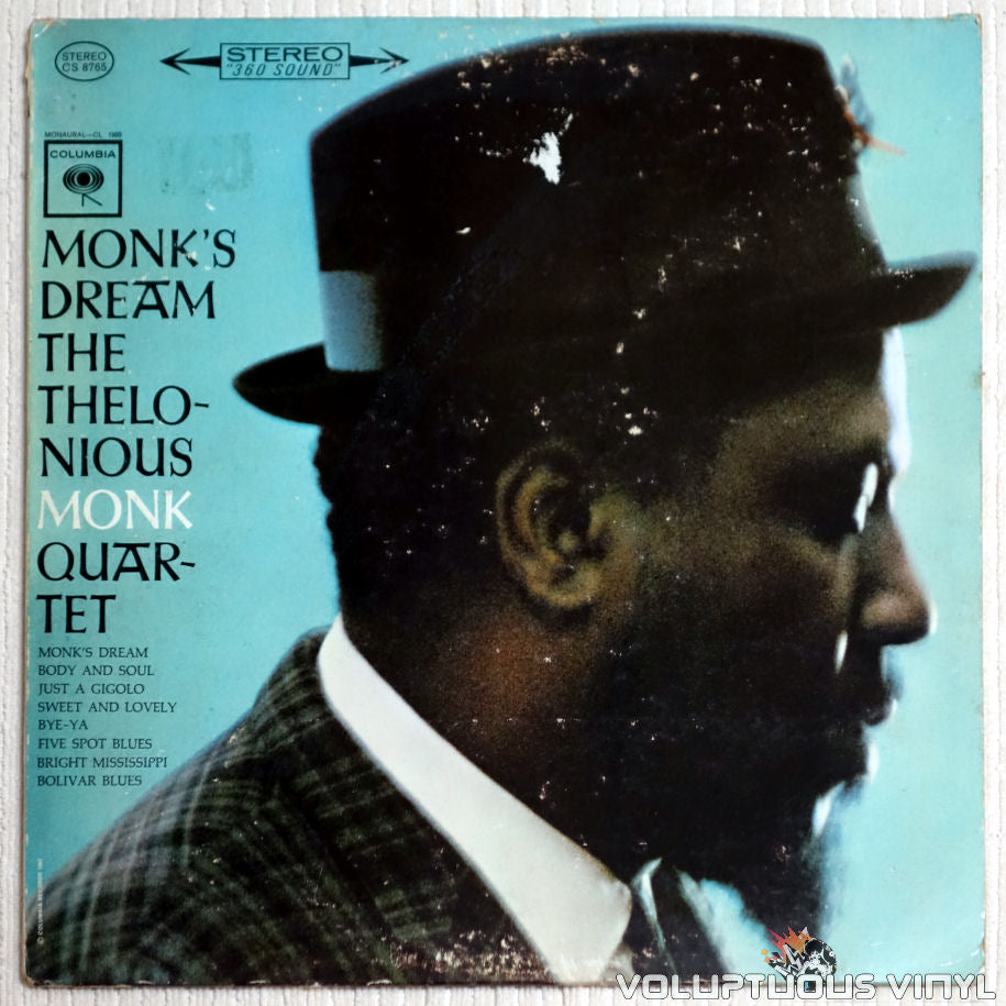 The Thelonious Monk Quartet ‎– Monk's Dream - Vinyl Record - Front Cover
