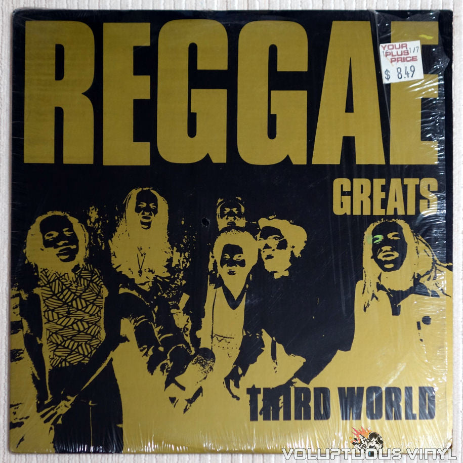 Third World ‎– Reggae Greats - Vinyl Record - Front Cover