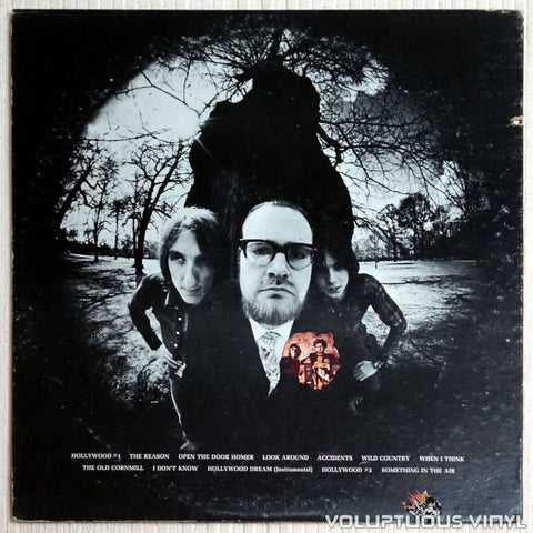 Thunderclap Newman ‎– Hollywood Dream - Vinyl Record - Back Cover