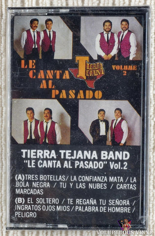Tierra Tejana Band ‎– Le Canta Al Pasado Vol. 2 (1989) SEALED