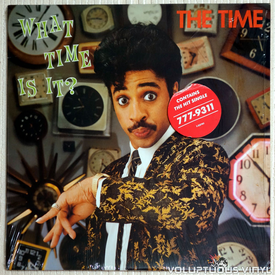 The Time ‎– What Time Is It? - Vinyl Record - Front Cover