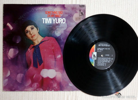 Timi Yuro ‎– Something Bad On My Mind - Vinyl Record