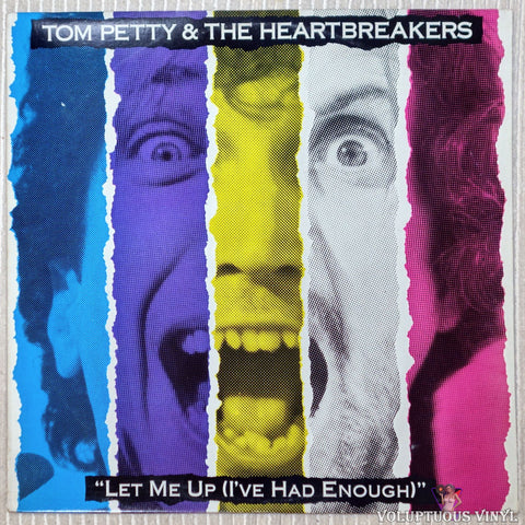Tom Petty And The Heartbreakers ‎– Let Me Up (I've Had Enough) vinyl record front cover