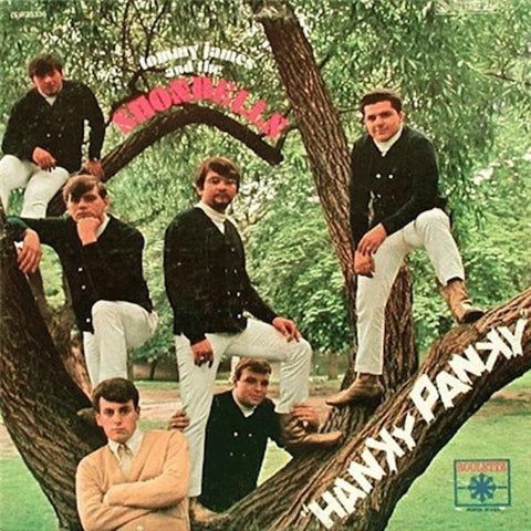 Tommy James & The Shondells ‎– Hanky Panky vinyl record front cover