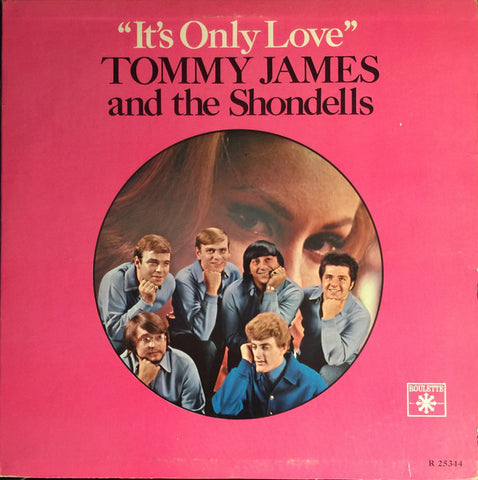 Tommy James & The Shondells ‎– It's Only Love vinyl record front cover
