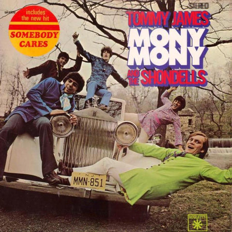 Tommy James And The Shondells ‎– Mony Mony vinyl record front cover