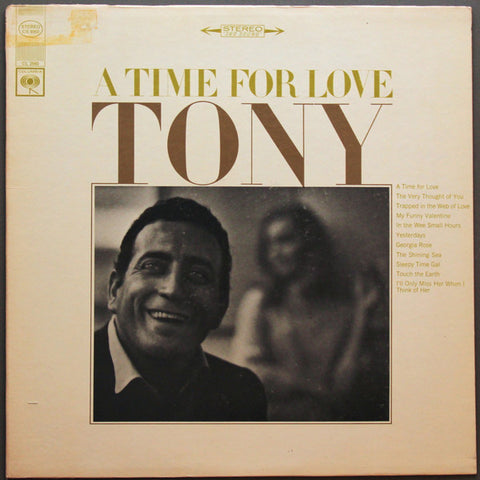 Tony Bennett ‎– A Time For Love (1966) Cheap Vinyl Record