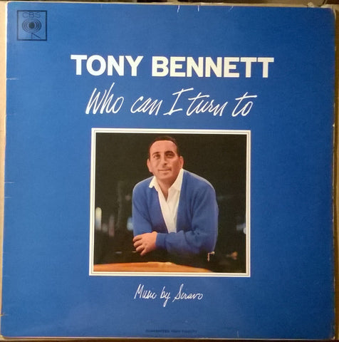 Tony Bennett ‎– Who Can I Turn To (1964) Cheap Vinyl Record