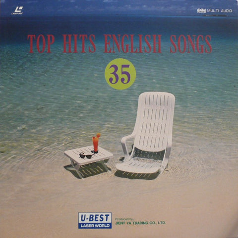 Top Hits English Songs 35 (1991) LaserDisc