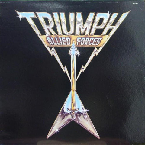 Triumph ‎– Allied Forces - Vinyl Record