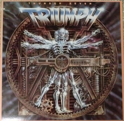 Triumph ‎– Thunder Seven (1984) Cheap Vinyl Record