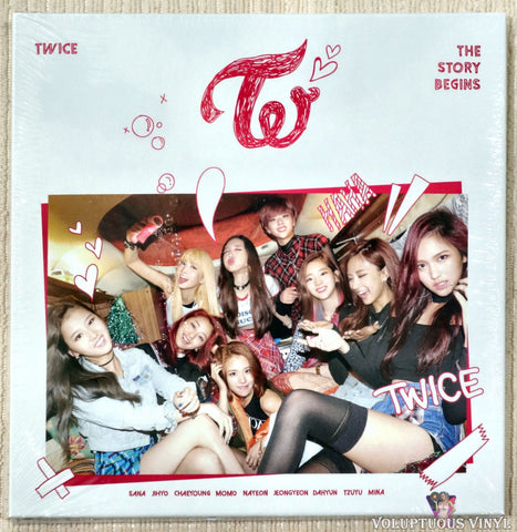 Twice ‎– The Story Begins CD front cover