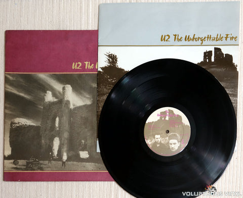 U2 ‎– The Unforgettable Fire - Vinyl Record