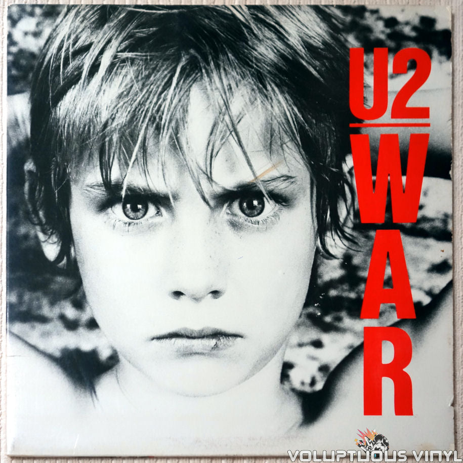 U2 ‎– War - Vinyl Record - Front Cover