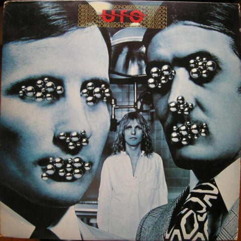 UFO ‎– Obsession vinyl record front cover