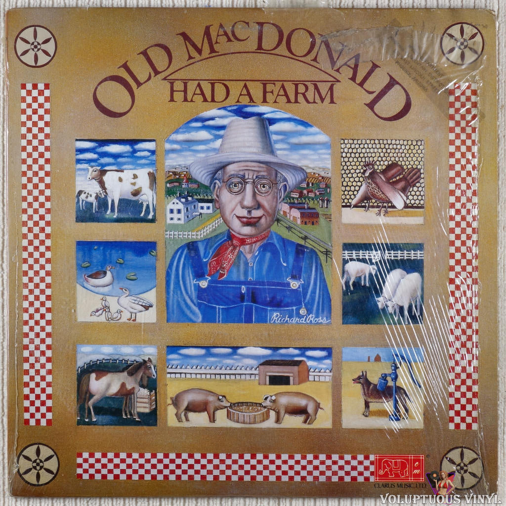 Unknown Artist ‎– Old MacDonald Had A Farm vinyl record front cover