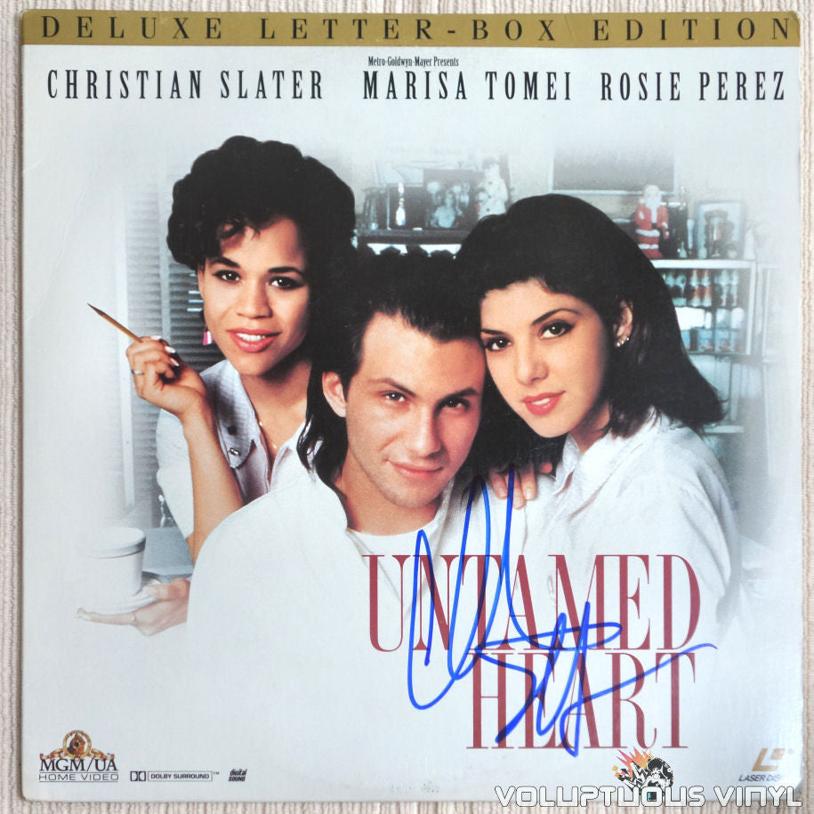 Untamed Heart - LaserDisc - Front Cover
