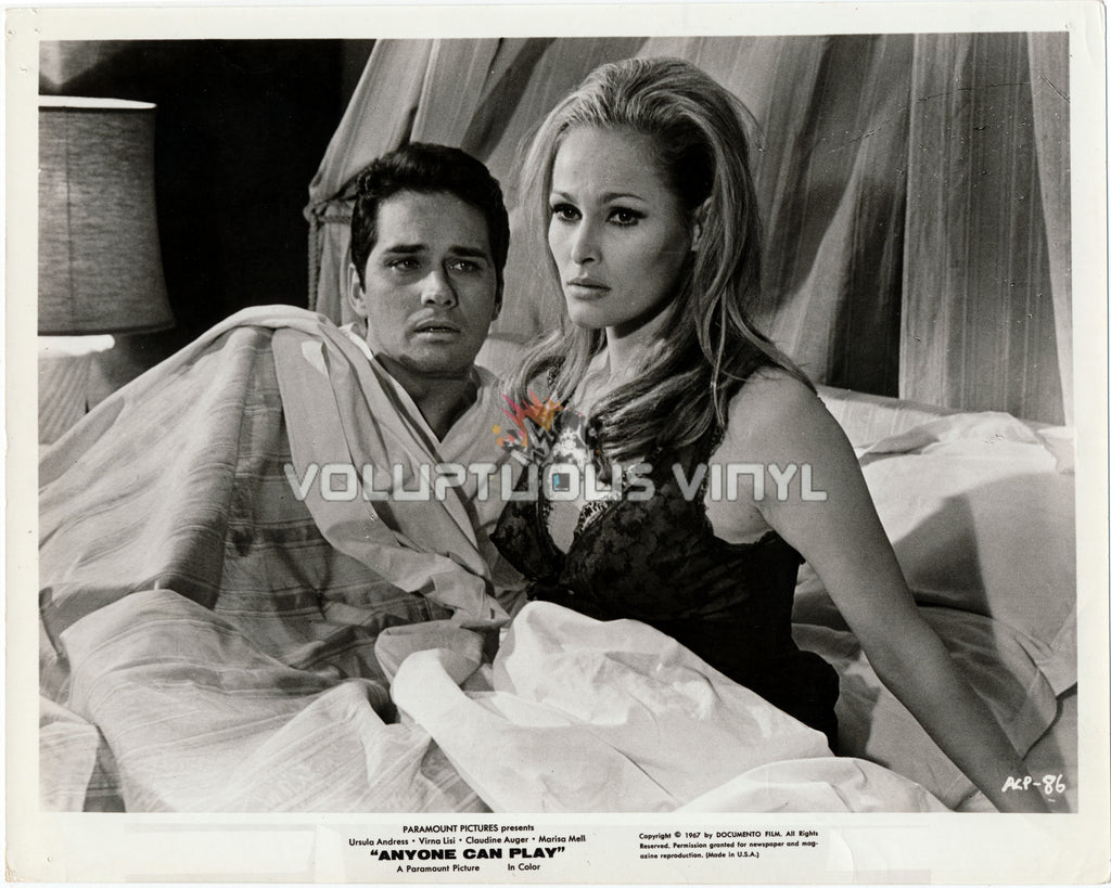 Ursula Andress - Anyone Can Play (1967) - Busty Promo Photo