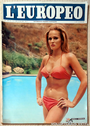 L'Europeo - July 11, 1965 - Ursula Andress Cover
