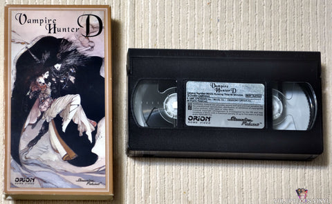Vampire Hunter D VHS tape