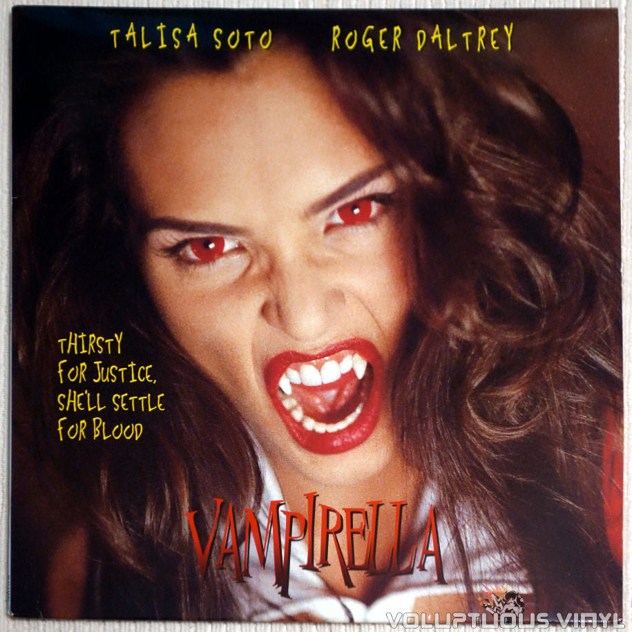 Vampirella: The Movie - LaserDisc - Front Cover