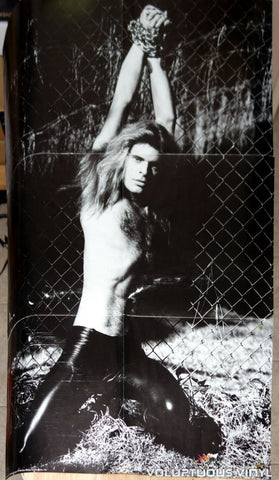 Van Halen - David Lee Roth Helmut Newton Poster