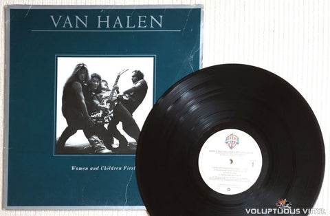 Van Halen ‎– Women And Children First - Vinyl Record