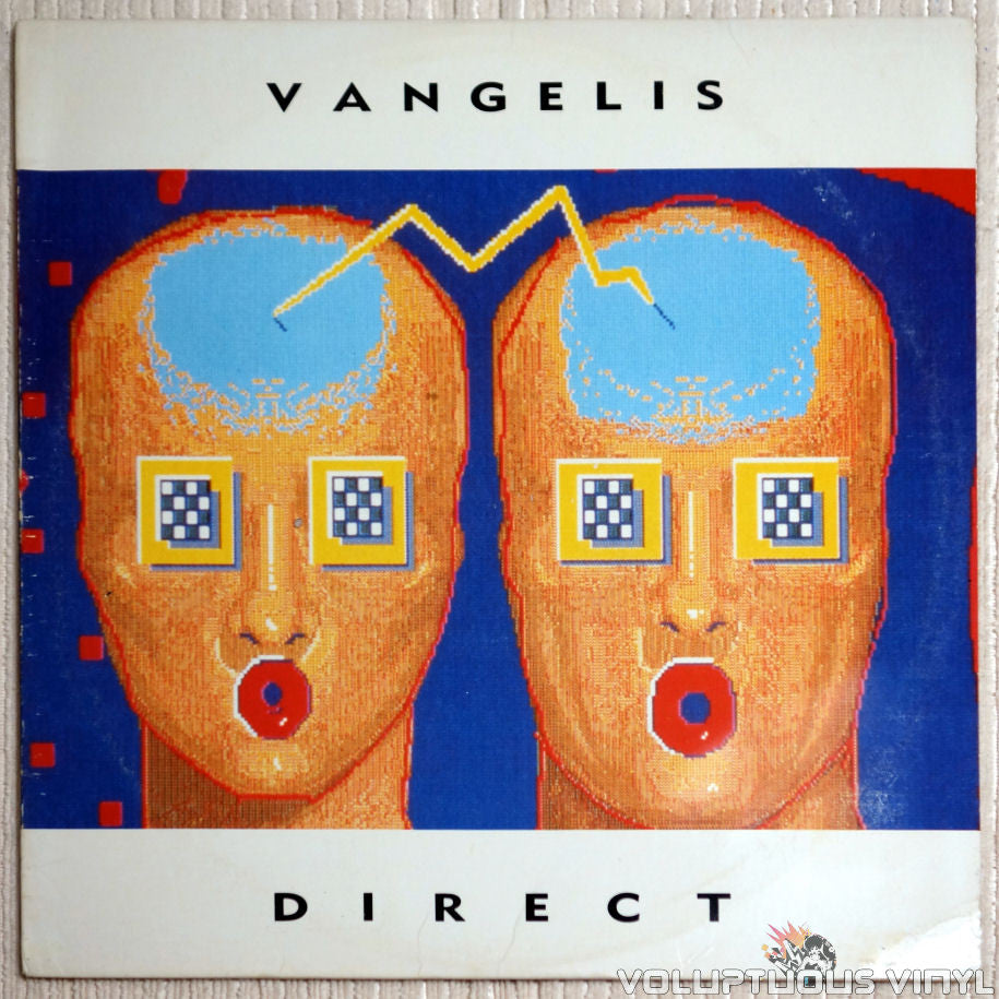 Vangelis ‎– Direct - Vinyl Record - Front Cover