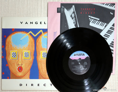 Vangelis ‎– Direct - Vinyl Record & Inner Sleeve
