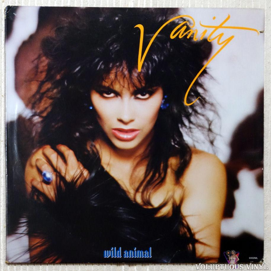 Vanity ‎– Wild Animal vinyl record front cover