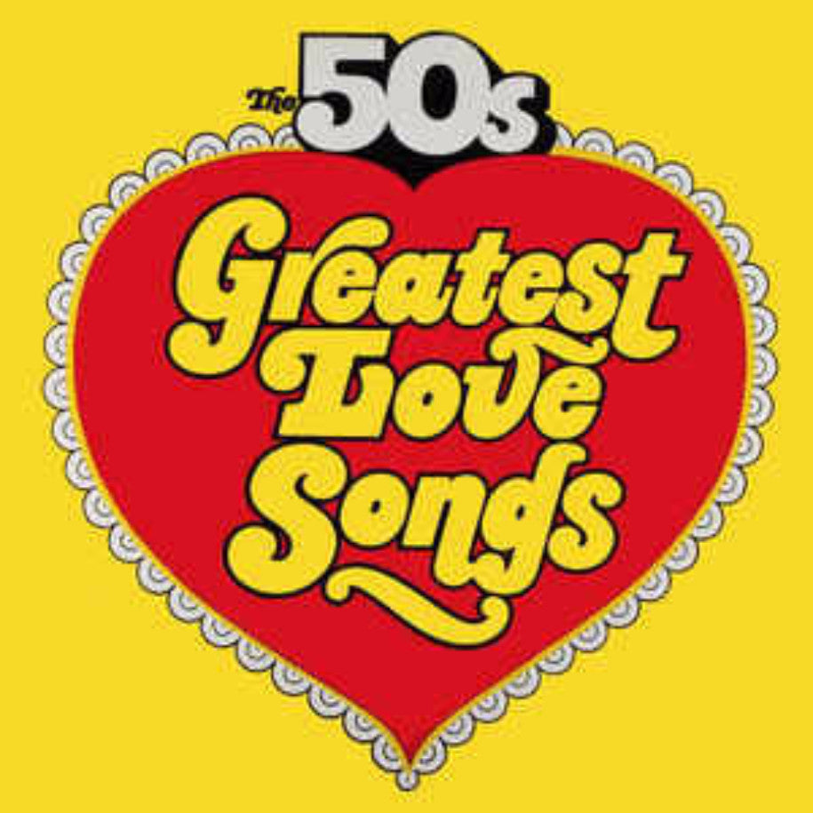 Various ‎– The 50's Greatest Love Songs / The 50's Golden Hits To Remember - Vinyl Record - Front Cover