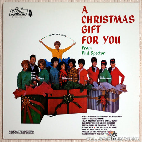 Various ‎– A Christmas Gift For You From Phil Spector - Vinyl Record - Front Cover