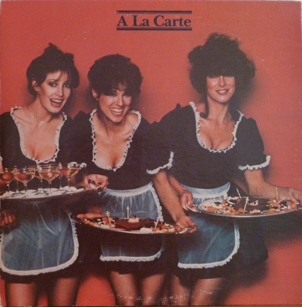 Various ‎– A La Carte - Vinyl Record - Front Cover