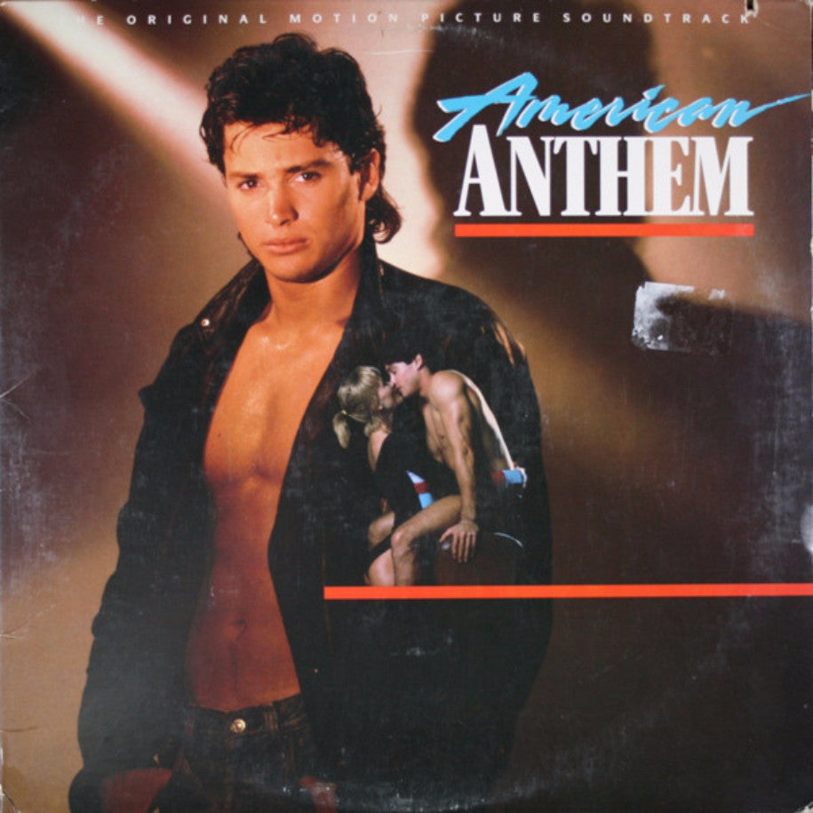 Various ‎– American Anthem - Vinyl Record - Front Cover