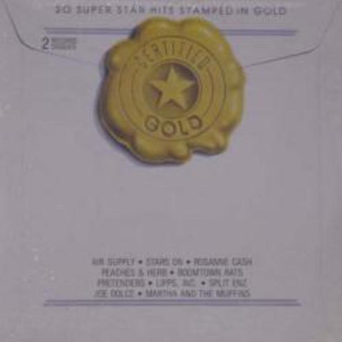 Various ‎– Certified Gold vinyl record front cover