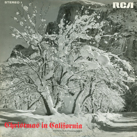 Various ‎– Christmas In California (1968) Vinyl Record