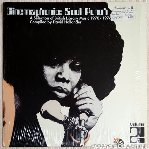 Various ‎– Cinemaphonic Volume 2: Soul Punch - Vinyl Record - Front Cover
