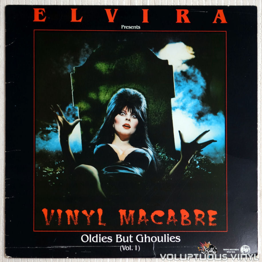 Various ‎– Elvira Presents Vinyl Macabre-Oldies But Ghoulies - Vinyl Record - Front Cover