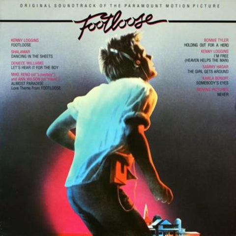 Various ‎– Footloose vinyl record front cover