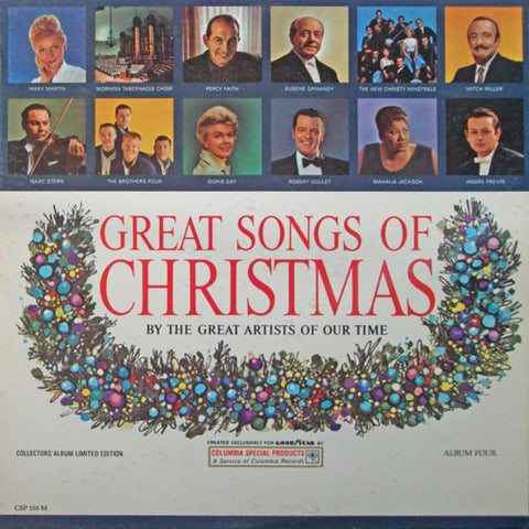 Various ‎– Great Songs Of Christmas Album Four - Vinyl Record