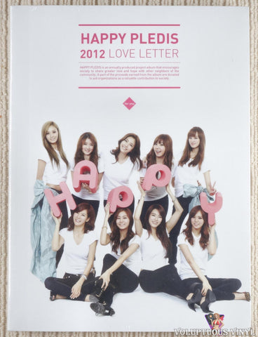 Various ‎– Happy Pledis 2012 Love Letter (2011) Korean Press, SEALED